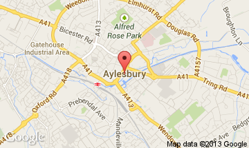 Image result for aylesbury map