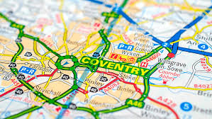 Image result for coventry map